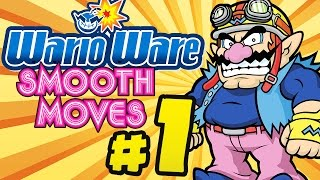 WARIO WARE: SMOOTH MOVES # 01 ★ Die Legende des Formenstabs! [HD | 60fps]