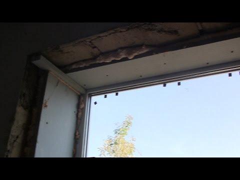 Как утеплить откосы на окна  и теплый пол