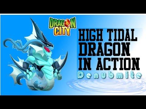 Dragon City: High Tidal Dragon In Action [Heroic]