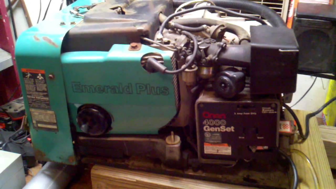 kubota generator wiring diagram 89 240sx ignition onan test bge spec g - youtube
