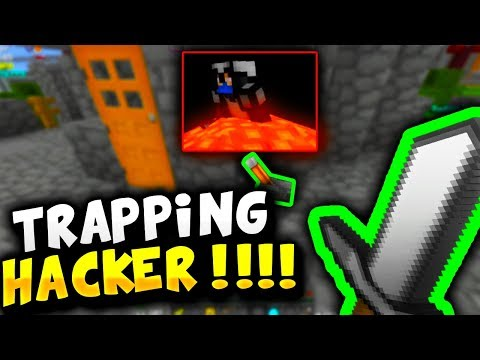 TRAPPING INSANE HACKER!! - Minecraft Survival Games #306