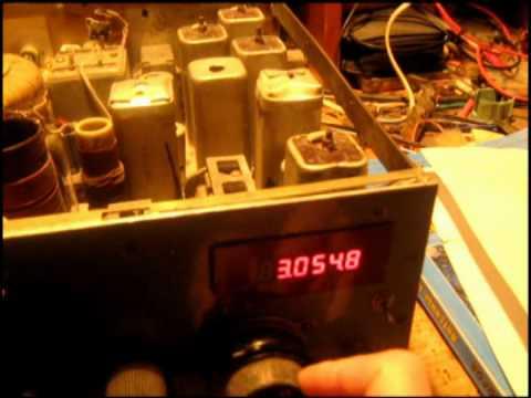видео: ГУ-81 ТЕСТ ПЕРЕДАЧА. 3 Мгц - АМ. gu-81 the test transfer avi