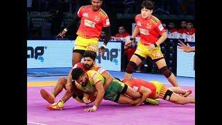 Pro Kabaddi 2018 Highlights   Patna Pirates vs Gujarat Fortunegiants   Hindi