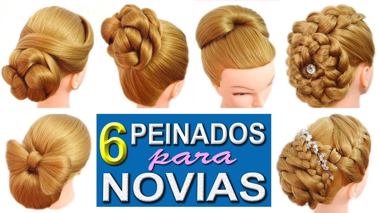 6 peinados de boda faciles y rapidos con trenzas elegantes - Peinados fiesta faciles ...