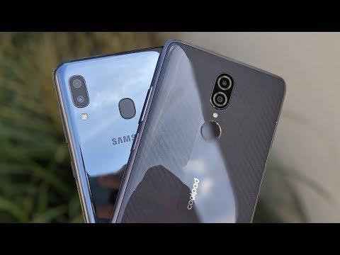 Samsung Galaxy A20 VS CoolPad Legacy!