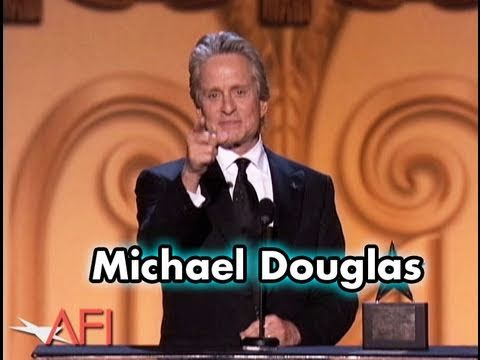 Michael Douglas Accepts the AFI Life Achievement Award in 2009
