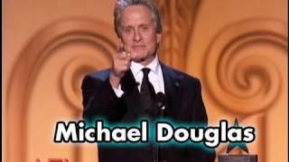 Michael Douglas Accepts the AFI Life Achievement Award in 2009