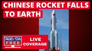 Chinese Rocket Falls to Earth - LIVE COVERAGE