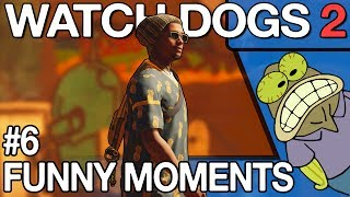 Watch Dogs 2 - Funny WTF PVP Moments #6