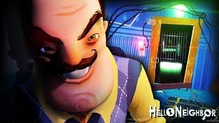 INTO THE BASEMENT.. BUT THERE'S MORE.. || Hello Neighbor Alpha 4 (BASEMENT DOOR UNLOCKED!)
