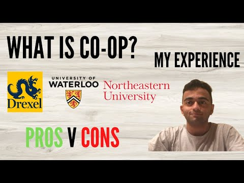 What is a COOP Program? | Study and Work together in USA/Canada | International Student