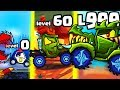 IS THIS THE STRONGEST CAR EATER EVOLUTION? (9999+ LEVEL UPGRADE) l Car Eats Car 3