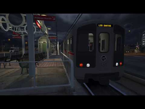 Grand Theft Auto 5 / LS Subway mod test
