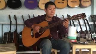 Đôi bờ nhạc Nga - guitar solo