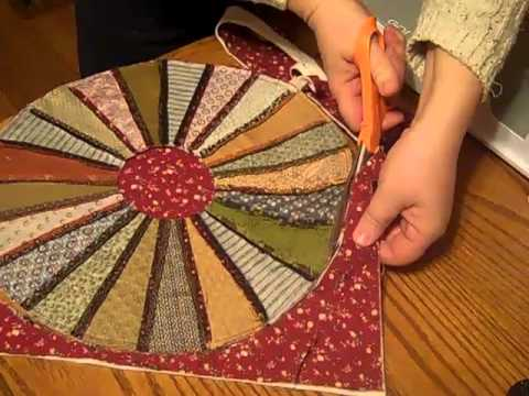 Accuquilt Go Candle Mat From Dresden Plate Youtube