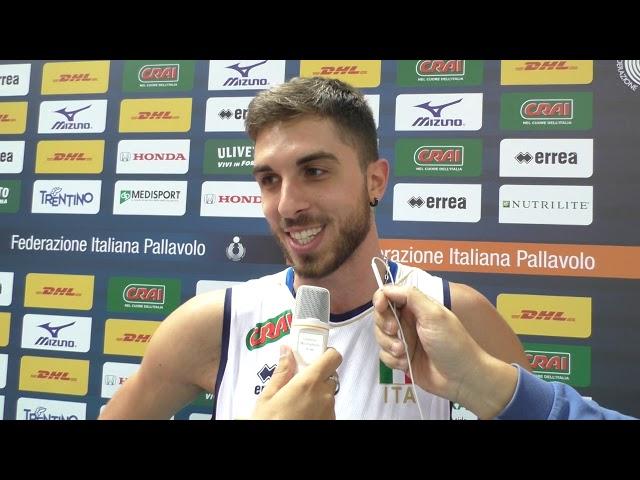 Luigi Randazzo dopo Italia-Cina 3-0