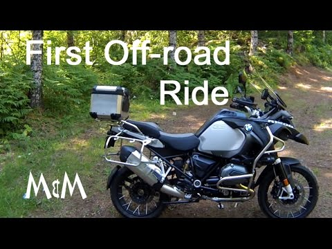 BMW R1200 GS Adventure - First ride off-road & Review