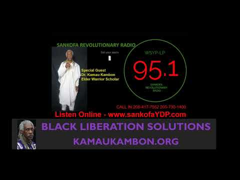 WYSP Interview with Dr. Kamau Kambon