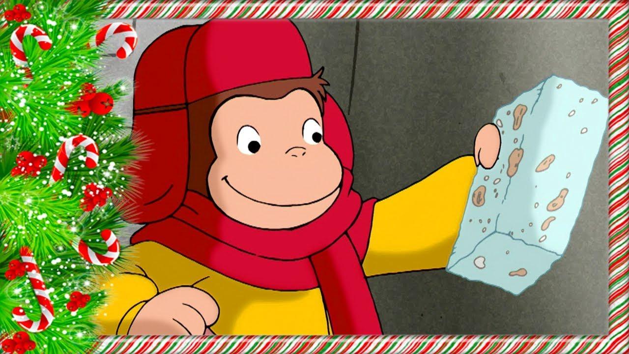 Curious George Christmas.Curious George Christmas Special George Vs Winter Kids Cartoon Kids Movies Videos For Kids