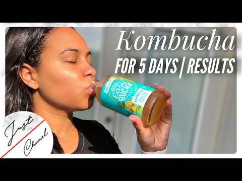 KOMBUCHA For 5 Days & This Happened