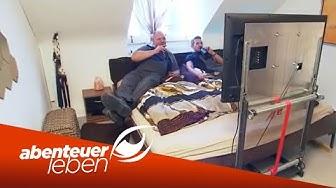 Einfach und günstig selber bauen: DIY Fernseher unterm Bett | Abenteuer Leben | kabel eins
