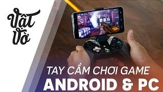 Vật Vờ| Tay cầm chơi game giá rẻ tương thích cả Android và PC