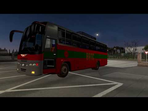 Hino BRTC Bus Mod Bangladesh ETS2 v1.36 - Episode 145 Euro Truck Simulator 2 Hindi   iVarunKumar