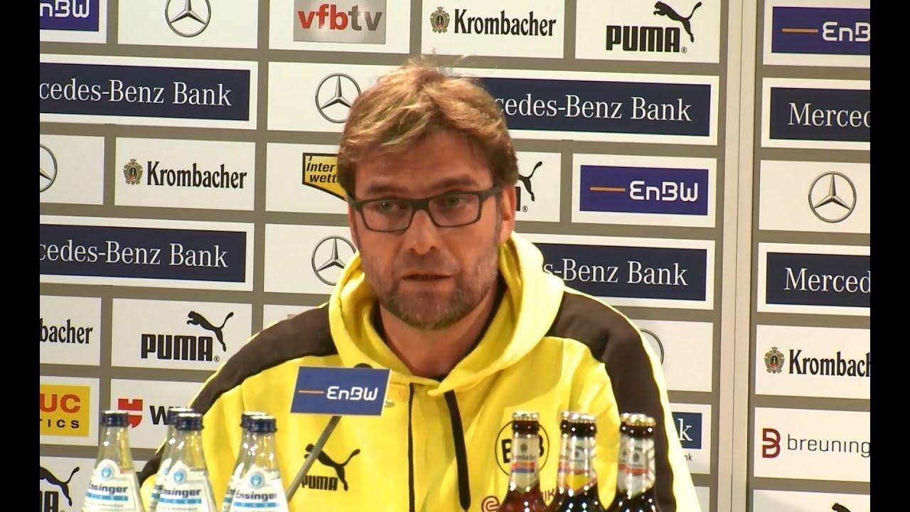 BVB Pressekonferenz vom 30. März 2013 nach dem Spiel VfB Stuttgart gegen Borussia Dortmund