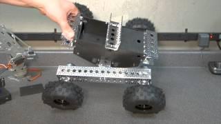 Servocity Nomad 4WD Off-Road Chassis kit