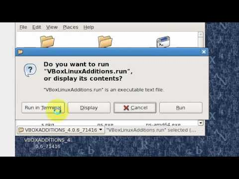 How to install VirtualBox Guest Additions - Centos
