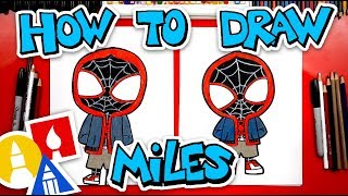 How To Draw Miles Morales