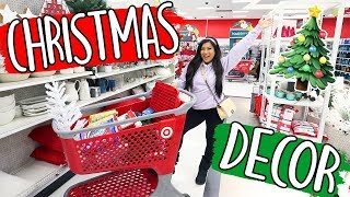 CHRISTMAS DECOR SHOPPING 2018!! Vlogmas Day 1