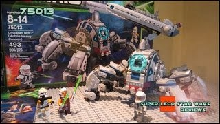 Lego Star Wars 75013 Umbaran MHC (Mobile Heavy Canon) Review
