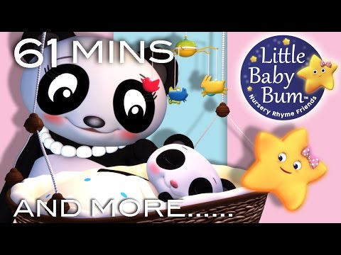 Rock A Bye Baby | Plus Lots More Nursery Rhymes | 61 Minutes