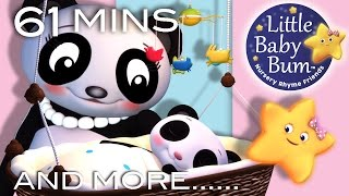 Rock A Bye Baby | Plus Lots More Nursery Rhymes | From LittleBabyBum!