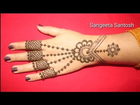 Mehandi Design Simple And Easy 2019