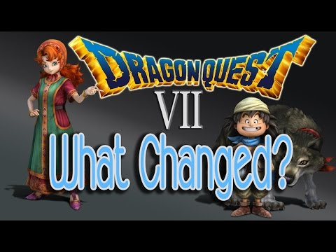 Dragon Quest 7 [3DS] - What Changed in the Remake? | DQ7 Critical Review