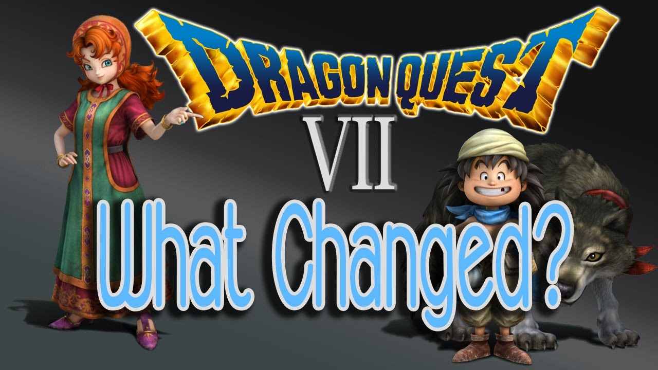Dragon Quest 7 3ds What Changed In The Remake Dq7 Critical Review Youtube