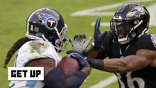 The Ravens got bullied by the Titans - Rex Ryan | Get Up