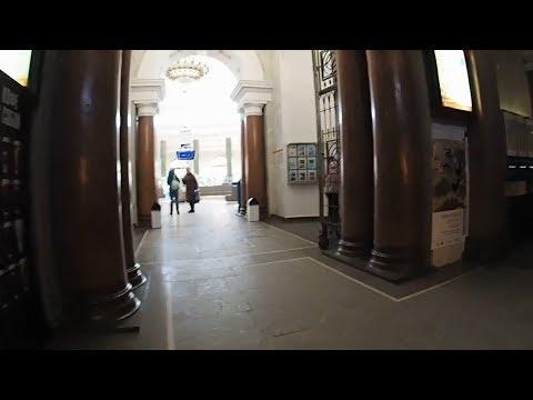 Minsk main post office inside
