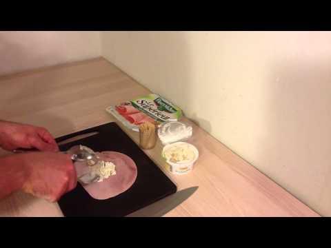 faire-un-roulé-jambon-et-fromage-aux-fines-herbes