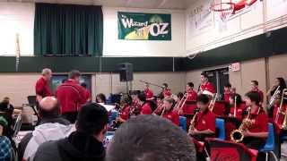District 54 Jazz Band, Lincoln Prairie Winter Concert, Funky Old St. Nick, 12/10/13