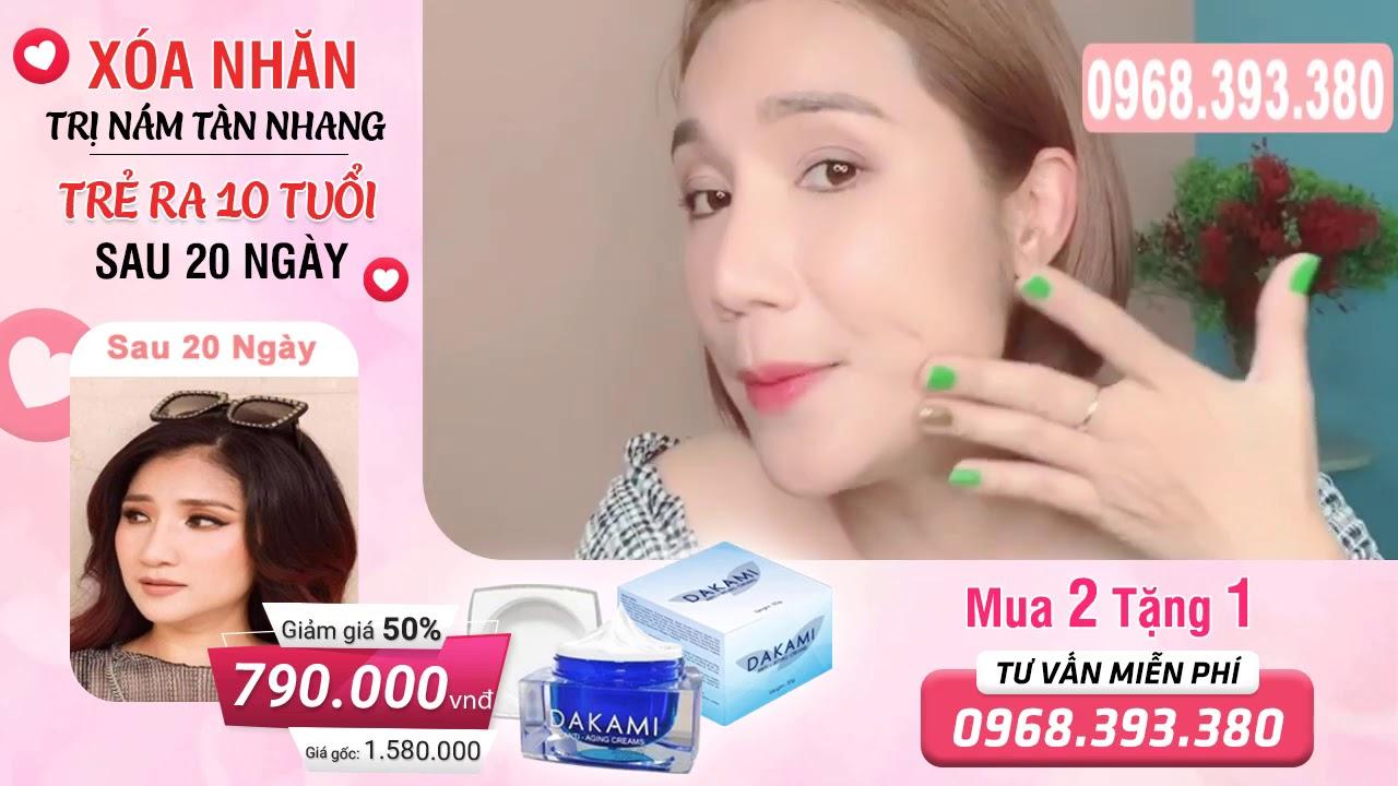 Dakami Tri Nám, Tàn Nhan, Trắng Da Từ Công Nghệ Quốc Tế Hàn Quốc : Hotline: 0968.393.380