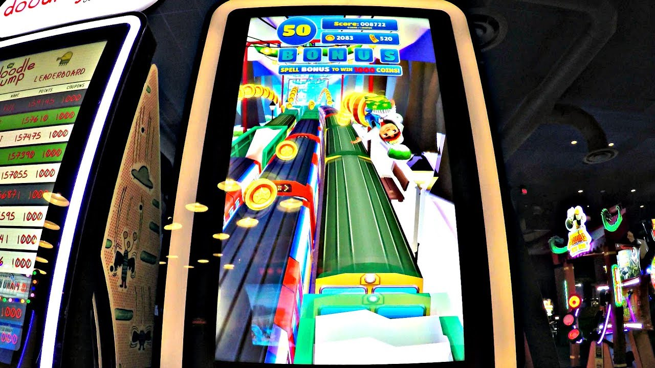 Image result for dave and busters subway surfers