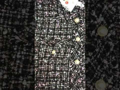 Áo Khoác Dạ Tweed HOT TREND 🔥