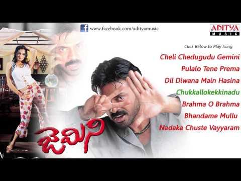 Gemini (జెమిని) Telugu Movie Full Songs Jukebox || Venkatesh, Namitha