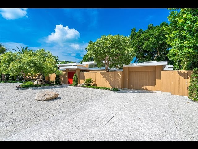 Exquisite Mid-Century Modern Residence in Sarasota, Florida | Sotheby's International Realty