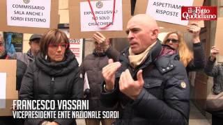 Expo, protesta Ente Nazionale Sordi: