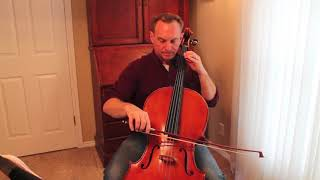 Musette from English Suite No. 3 Practice from Suzuki Cello Book 2 with Kayson Brown