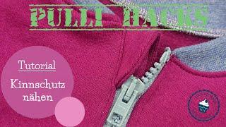 Tutorial Kinnschutz nähen   Pulli Hacks   DIY Nähanleitung   mommymade